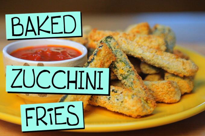 Baked Zucchini Fries – ZOMG!