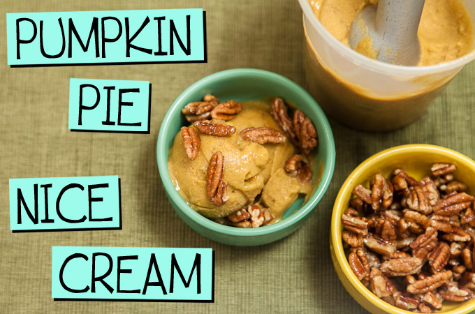 Pumpkin Pie Nice Cream