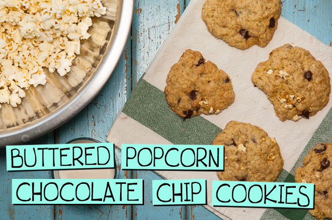 Buttered Popcorn Chocolate Chip Cookies