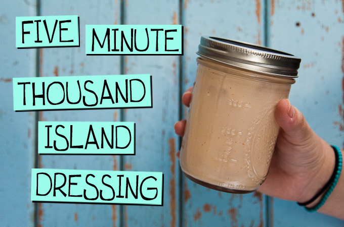 Five Minute Thousand Island Dressing